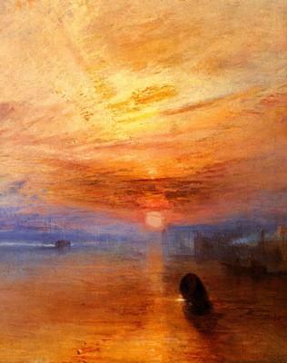 poème : un coucher de soleil en bretagne