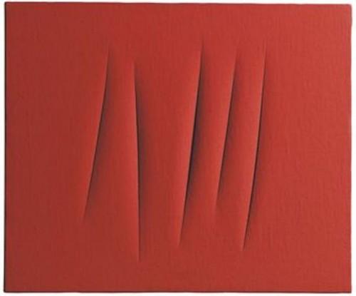 poésie,couleurs,jacques roubaud,lucio Fontana,rouge,blanc,noir