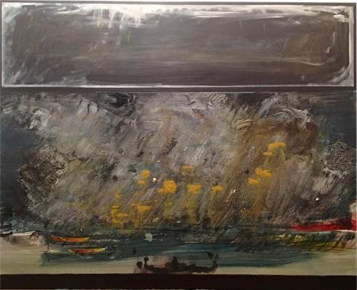 Marc Léonard, La plage sous l'orage.jpg