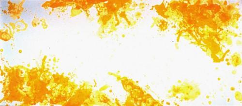 l'inconnu sur la terre,(extrait),de jean-marie gustave le clézio,sam francis,jaune,lumière