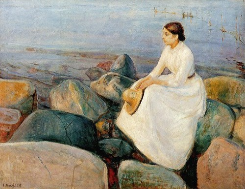 Edvard Munch, Summer Night  1889.jpg