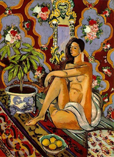 Matisse,Aragon, noir, blanc